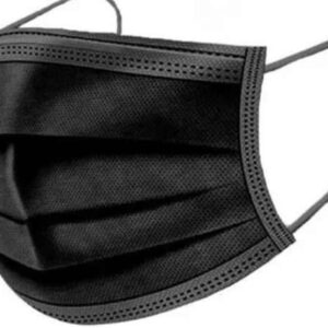 50st. zwarte mondkapjes